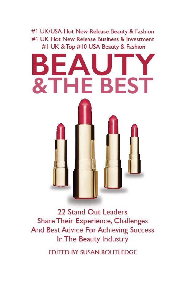 front cover of beauty and the best book conceived by Susan Routledge